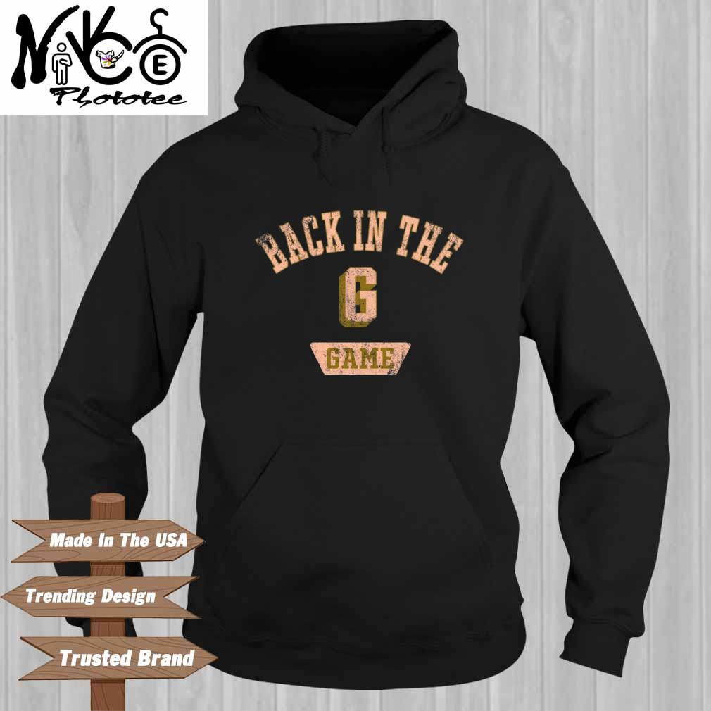 Back in the G game Hoodie