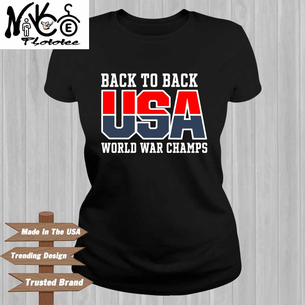 Back to back USA world war champs Ladies