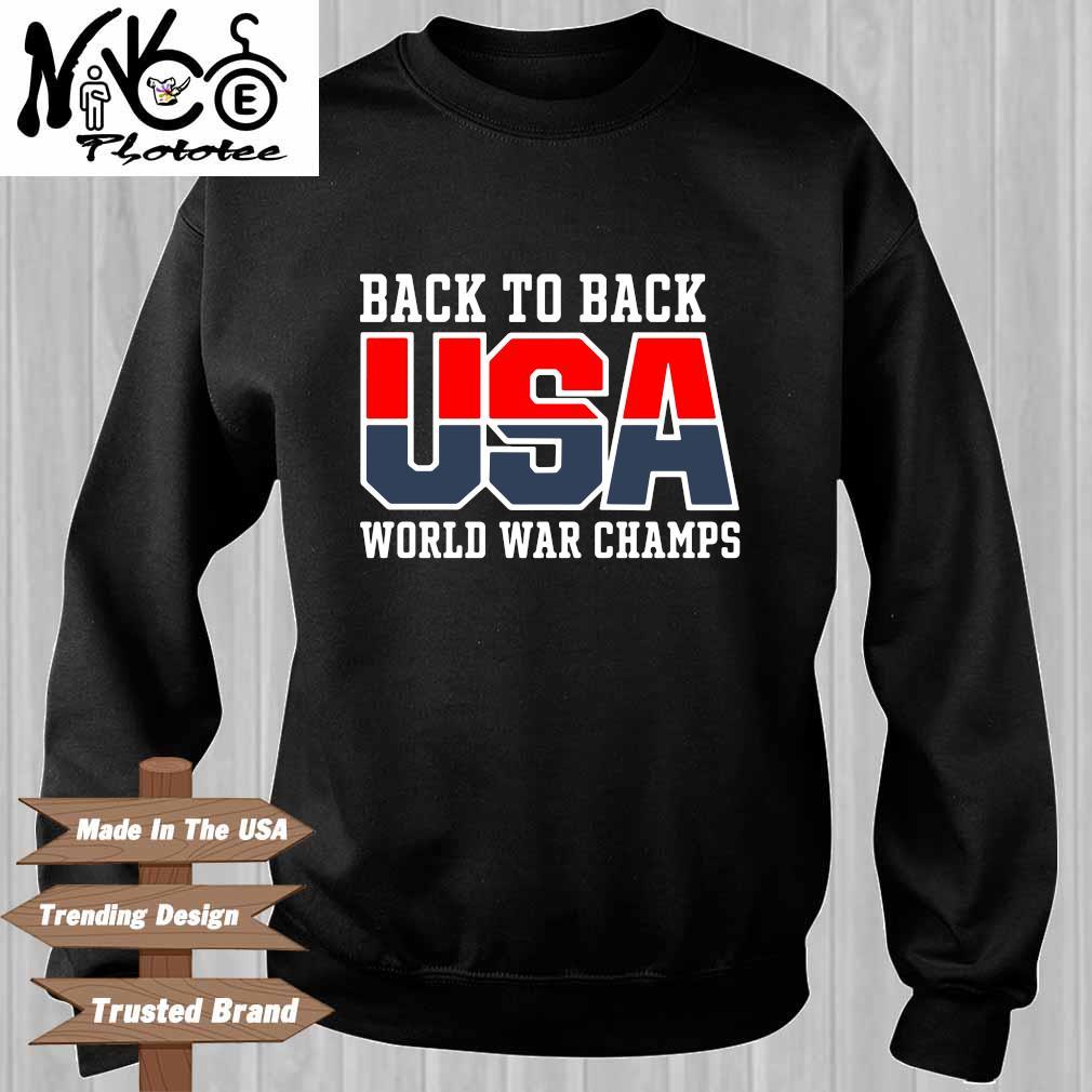Back to back USA world war champs Sweater