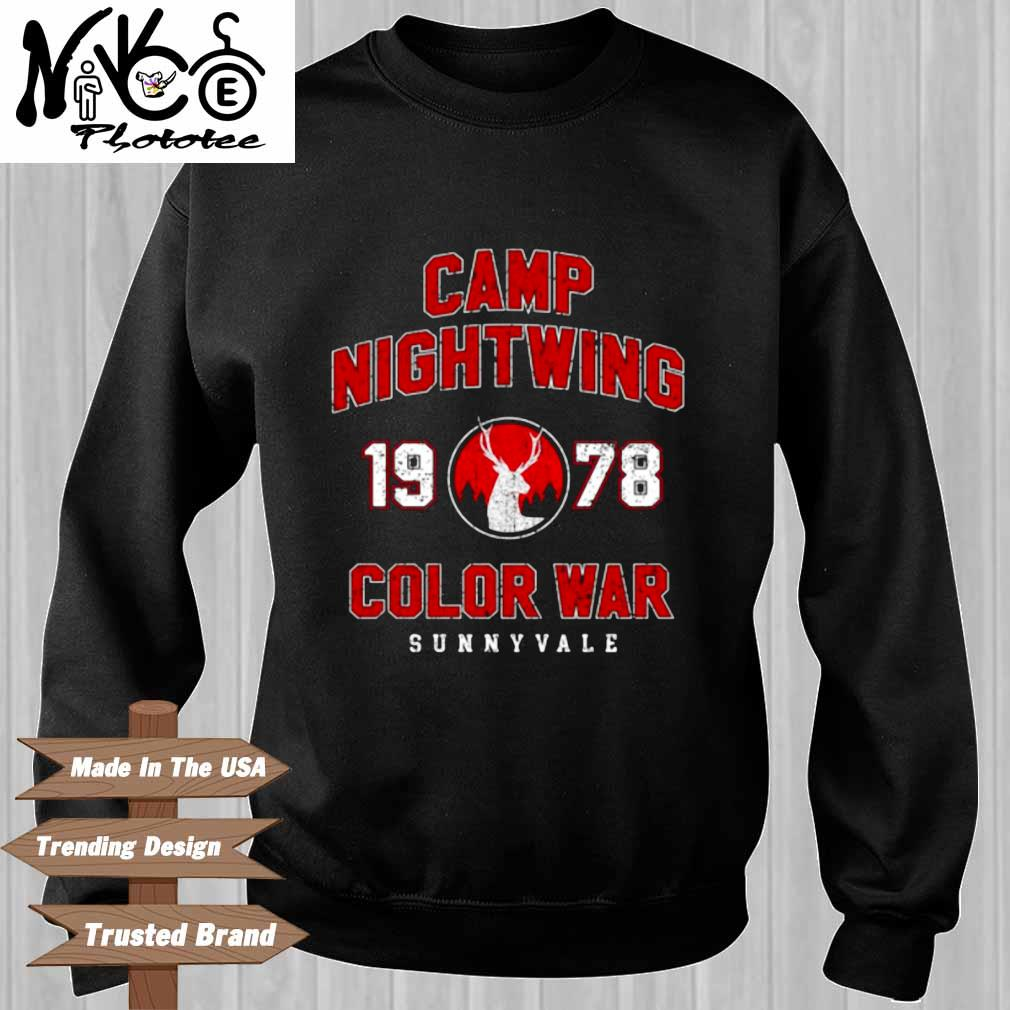 Camp nightwing 19 78 color war sunnyvale Sweater