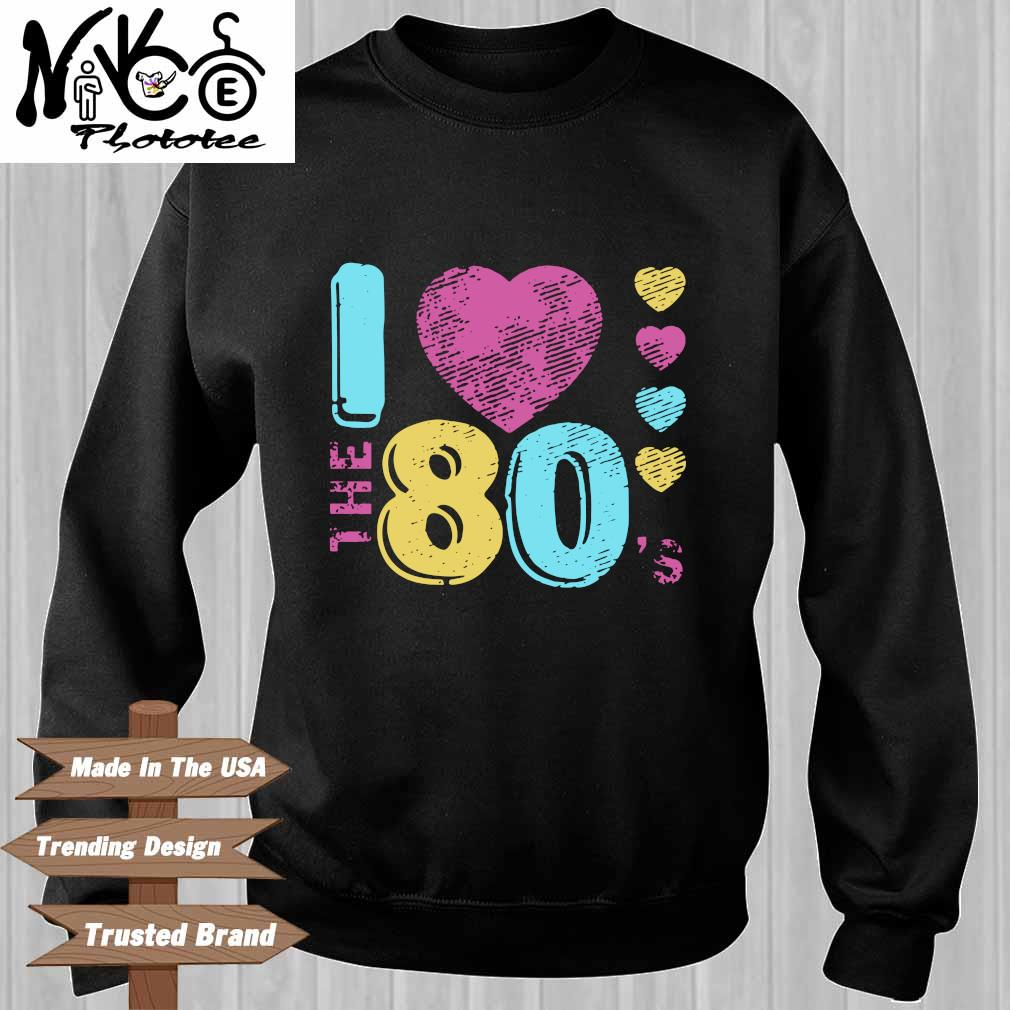 I love the 80's Sweater