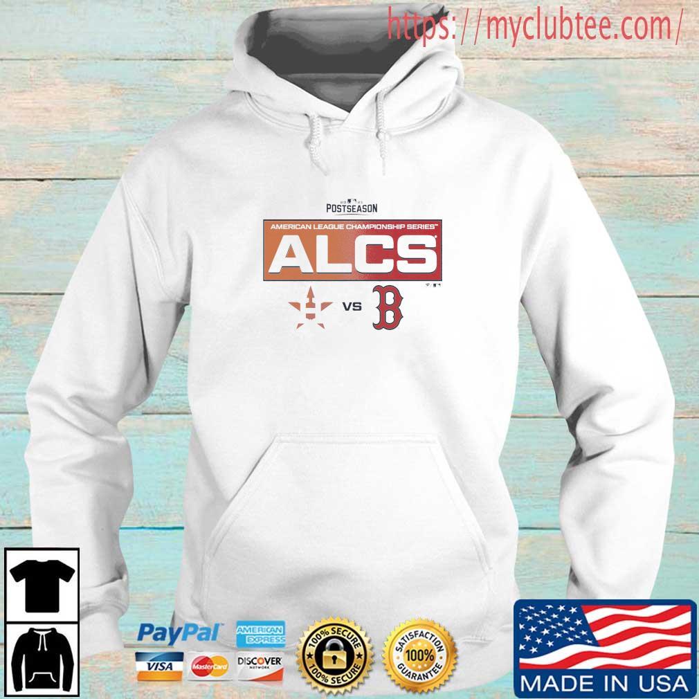 2021 Postseason Houston Astros Vs Boston Red Sox American League Champions Series ALCS Shirt Hoodie trang